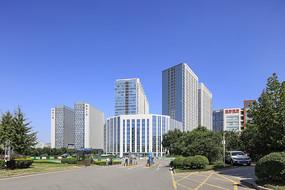 济南市城市建筑风光