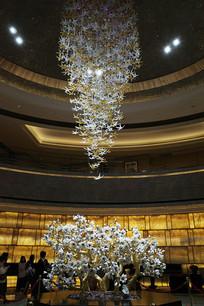 宾馆大堂吊灯