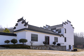 独立徽派建筑