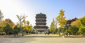 济南大明湖超然楼景观