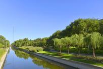 北京元土城遗址公园小月河