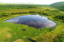 大兴安岭金河林区的马兰湖
