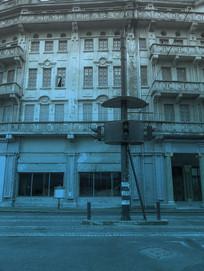 蓝调老上海信号灯