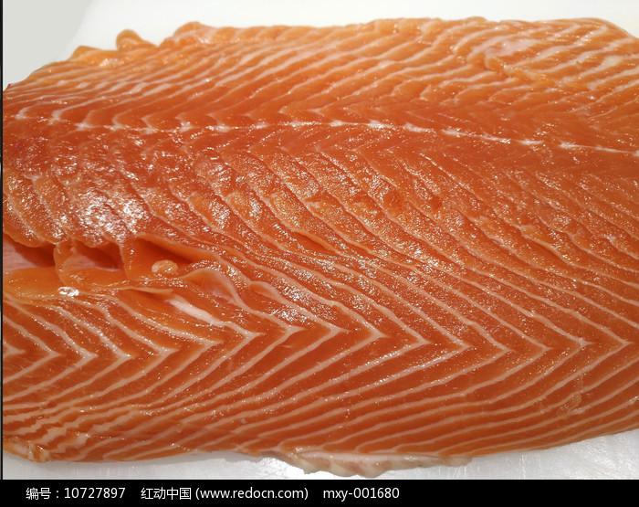 肉质细腻三文鱼图片