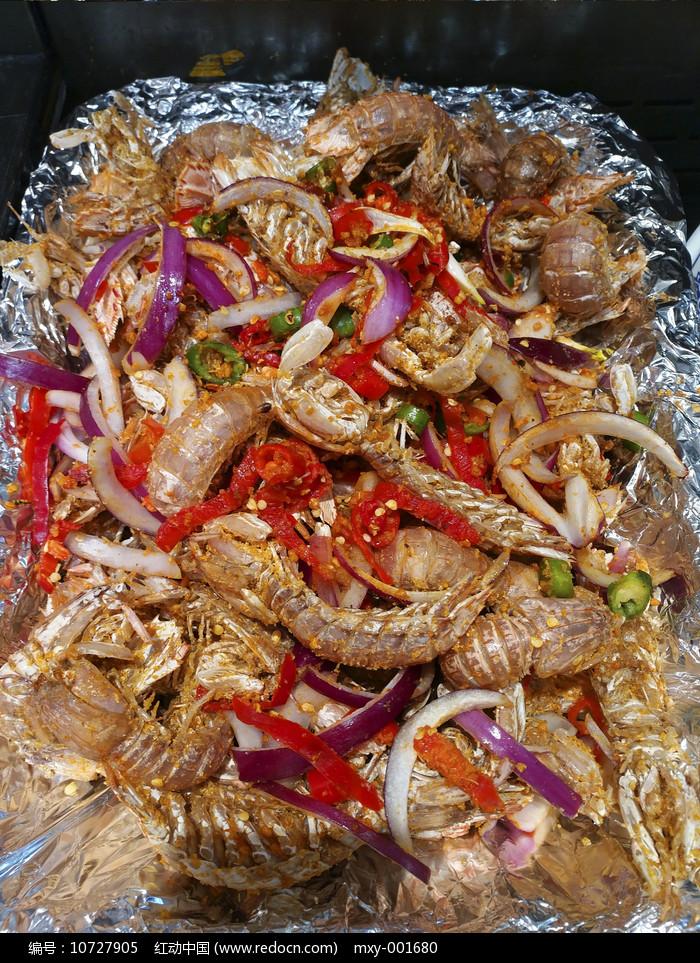 香辣皮皮虾图片