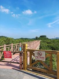 悬空的景观步道