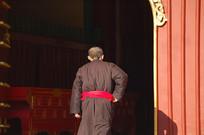 雍和宫青年僧人背影
