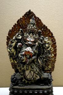 雍和宫铜像-大威德金刚