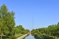 元大都土城遗址公园小月河
