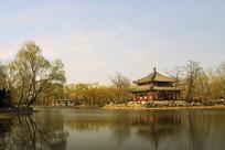 北京圆明园万春园-鉴碧亭