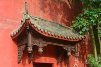 传统木建筑构件垂花柱