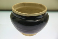 黑釉大口罐元代