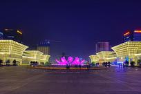 济南西站广场