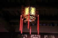 木质八角灯笼