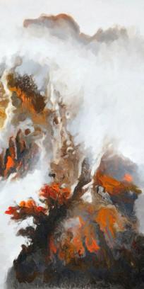意境山水壁画