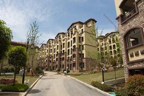 重庆市巫山县摩天岭漂亮的楼房