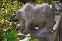 猪石雕雕刻