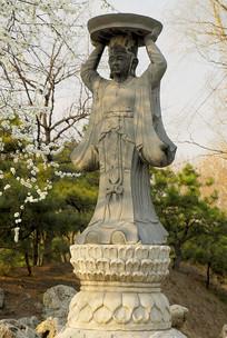 圆明园-仙人承露台雕塑