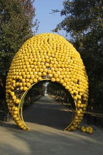 柚子园造型