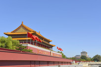 北京天安门城楼外景