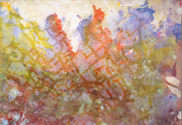抽象背景画