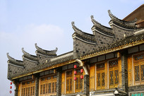 洛带古镇中国艺库传统建筑