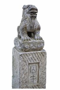 中国古代神话神兽石刻囚牛