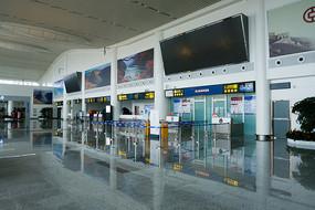 重庆巫山机场航站楼候机厅