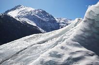 冰川雪山风景图片