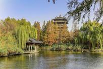 济南大明湖超然楼风景