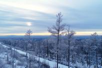 雪域山林风景
