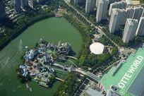 韩国石村湖水公园魔幻岛