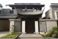 中式庭院门楼