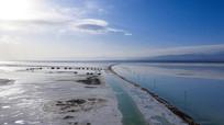 茶卡盐湖核心景区