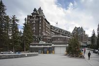 费尔蒙班夫温泉城堡酒店外观