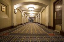 费尔蒙班夫温泉城堡酒店走廊