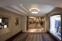 费尔蒙班夫温泉城堡酒店走廊摄影