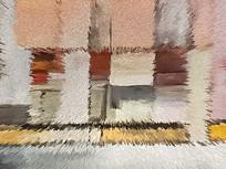 高灰调地毯数码印花图案