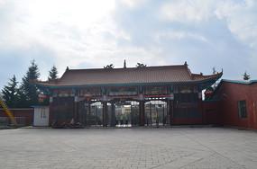 公园大门古典建筑