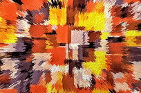 现代地毯数码印花
