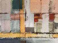 低奢北欧艺术地毯