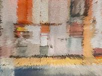 地毯花纹简约艺术地毯