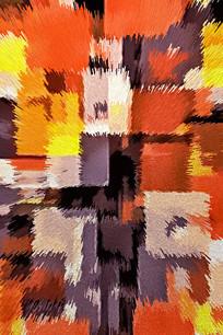 几何北欧地毯