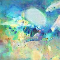 抽象派油画