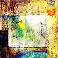 油画抽象图案无框画