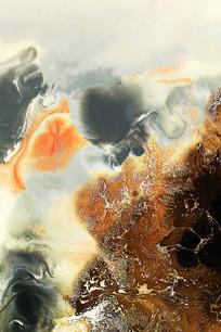 抽象现代水墨艺术画