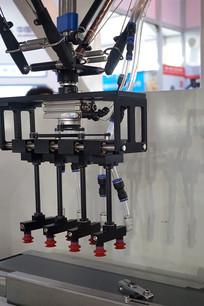 工业机器人特写