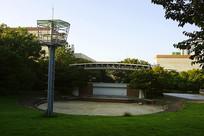 韩国水原孝园公园露天音乐厅