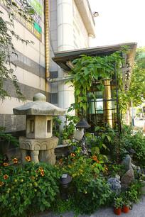 韩国庭院花园景观装饰