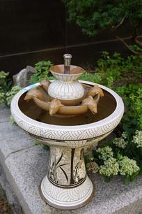 家居庭院落地流水喷泉摆件